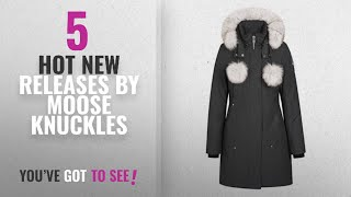 Hot New Moose Knuckles Women Clothing [2018]: Moose Knuckles Ladies Stirling Parka Granite Colour