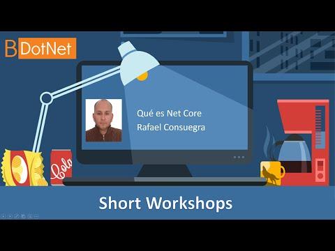 Short Workshops - Qué es Net Core