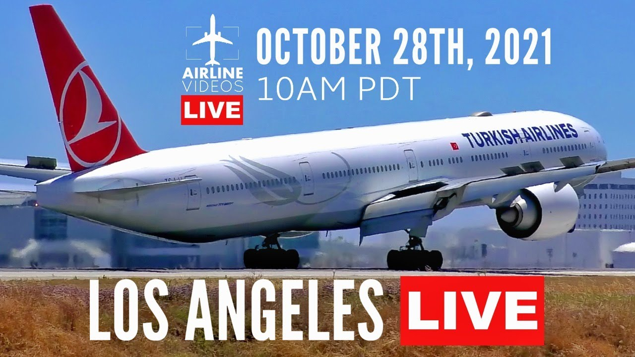 Download ACTION PACKED  🔴LIVE Stream Coverage at Los Angeles International Airport (LAX)