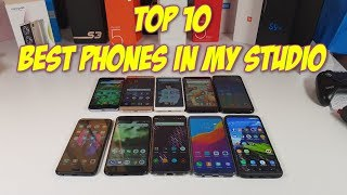 My TOP 10 Best smartphones from low cost to high price flagship! Currently!