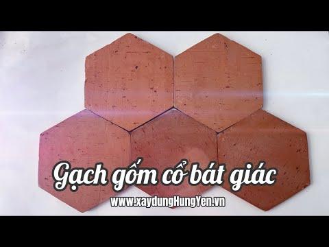 Gạch Gốm Cổ Lục Giác | Gạch Lục Giác Trang Trí | Gạch Lát Nền Bát Giác | Gạch Cổ | Gạch Gốm Cổ