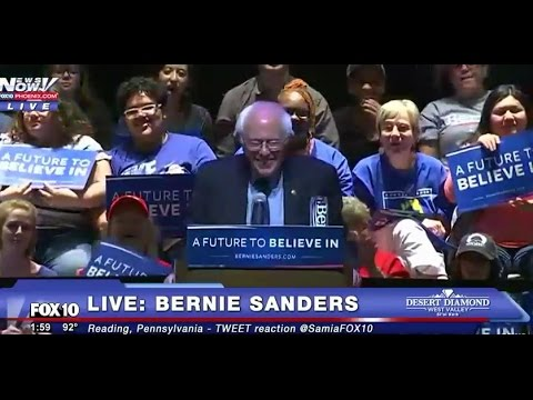 Bernie Sanders EXPLOSIVE SPEECH Reading, Pennsylvania LIVE Rally PA 4/21/16