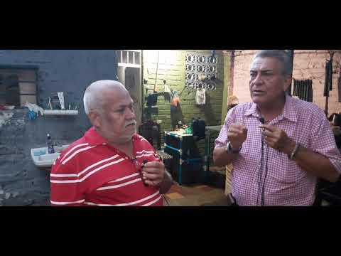 Con Jorge Moncada ,fabricante De Bastones ,muletas Y Caminadores En PVC.