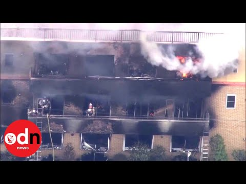 Blaze at Japanese Anime Studio Leaves 33 Dead
