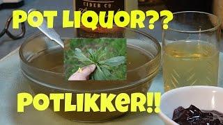 Pot likker! Featuring plantain, dock, bittercress, cleavers and dandelion