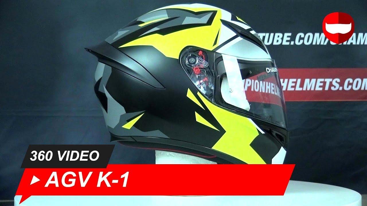 Agv K 1 Mir 2018 Full Face Helmet Championhelmets Com Youtube