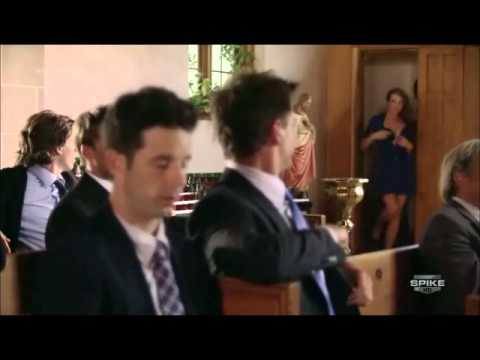 Blue Mountain State  The goats go to church funny !.