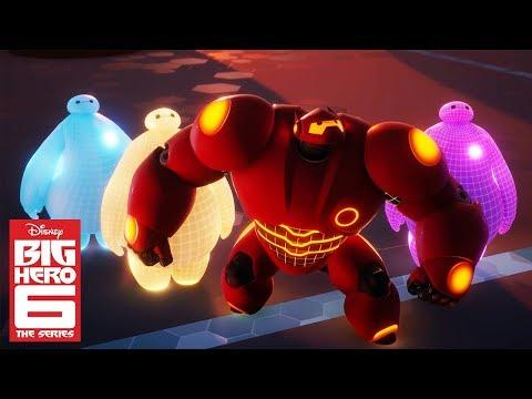 Baymax Dreams of Too Many Baymaxes | Big Hero 6 | Disney Channel