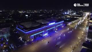 Час Земли на Зубовском бульваре