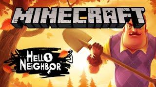 Hello Neighbor en Minecraft PE + Descarga | V 1.0 | IsmaelGav06Yt