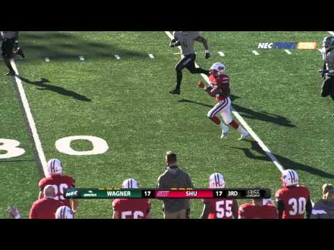 Football: SHU Vs. Wagner Highlights 11/21/15