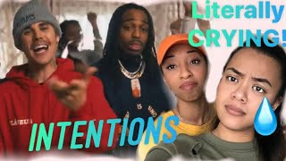 Justin Bieber Ft. Quavo - INTENTIONS (Official Music Video) REACTION