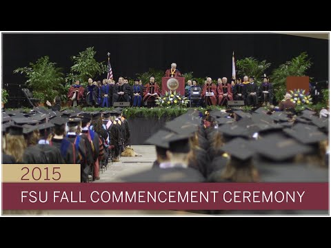 Florida State University Fall 2015 Commencement