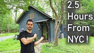 Tour Our Tiny Cottage In The Catskills, Ny + Airbnb Tips !