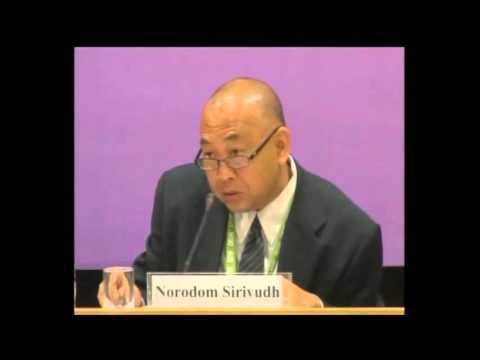 HRH Norodom Sirivudh at Delhi Dialogue VIII