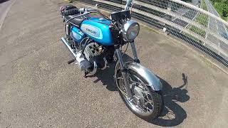 1971 kawasaki h1a walkround and ride throught the countryside