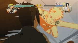 Naruto Ultimate Ninja Storm 2 PC MOD - KCM Naruto vs Sasuke Boss Battle English Dub 1080p