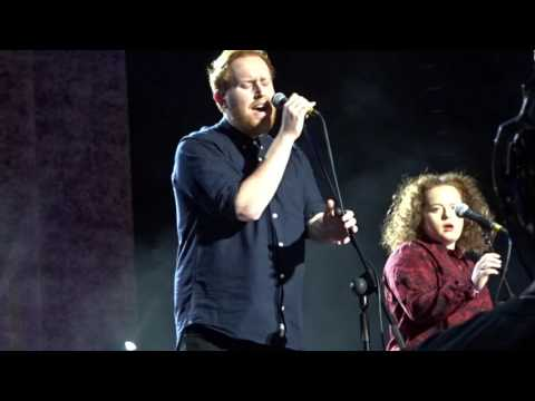 Gavin James and Aine Cahill Diamonds  at the 3Arena 2fm Xmas Ball