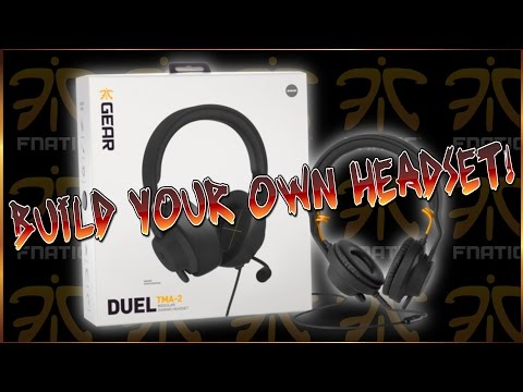FNatic DUEL TMA 2 Gaming Headset Unboxing BUILD YOUR OWN HEADSET