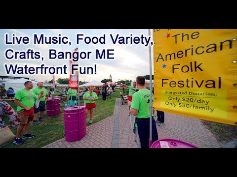 Maine Music | American Folk Festival Bangor ME Penobscot County