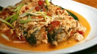 Ulam Pinoy #15 - Fish Sarciado (sarshiadong Isda)