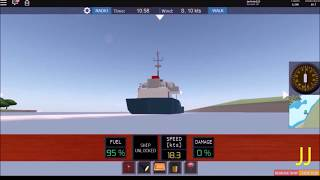 How to transport cargo in Dynamic Ship Simulator III - Roblox (HD)