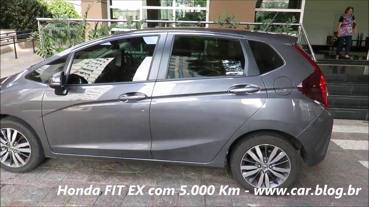 Honda Fit Ex 2016 Teste De 5 000 Km Consumo Impressoes Www Car Blog Br Youtube