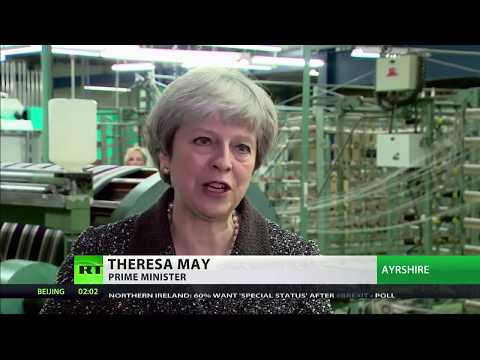 Theresa May on Brexit: I want us to come together, the four nations