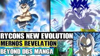 Beyond Dragon Ball Super: Rycons NEW Transformation Evolution! Mernos Revelation Against Rycon!