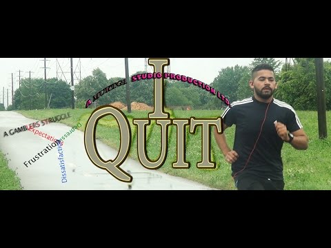 """I QUIT"" - A short film on Gambling Addiction, Depression, Suicide. (One man Shot film)"