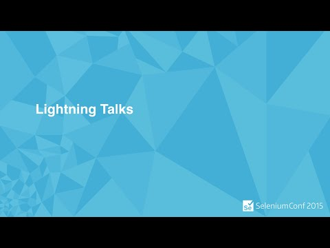 SEP 10TH Lightning Talks