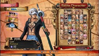 One Piece Burning Blood Favorites of Mine Vs Random