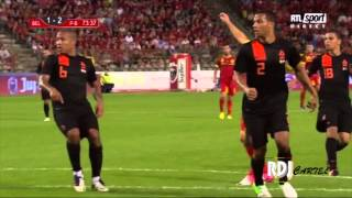 Download Video BELGIUM's highlights 4-2 Netherlands | Friendly | 2012/08/15 MP3 3GP MP4