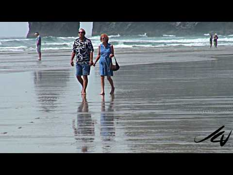 Cannon Beach, Oregon, USA - for miles & miles!!!