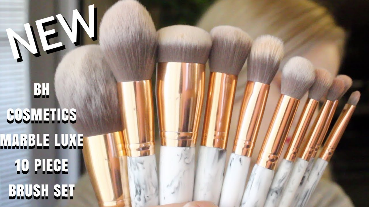 Marble Luxe 10 Piece Brush Set by BH Cosmetics #3