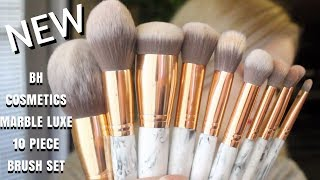 Marble Luxe 10 Piece Brush Set by BH Cosmetics #21