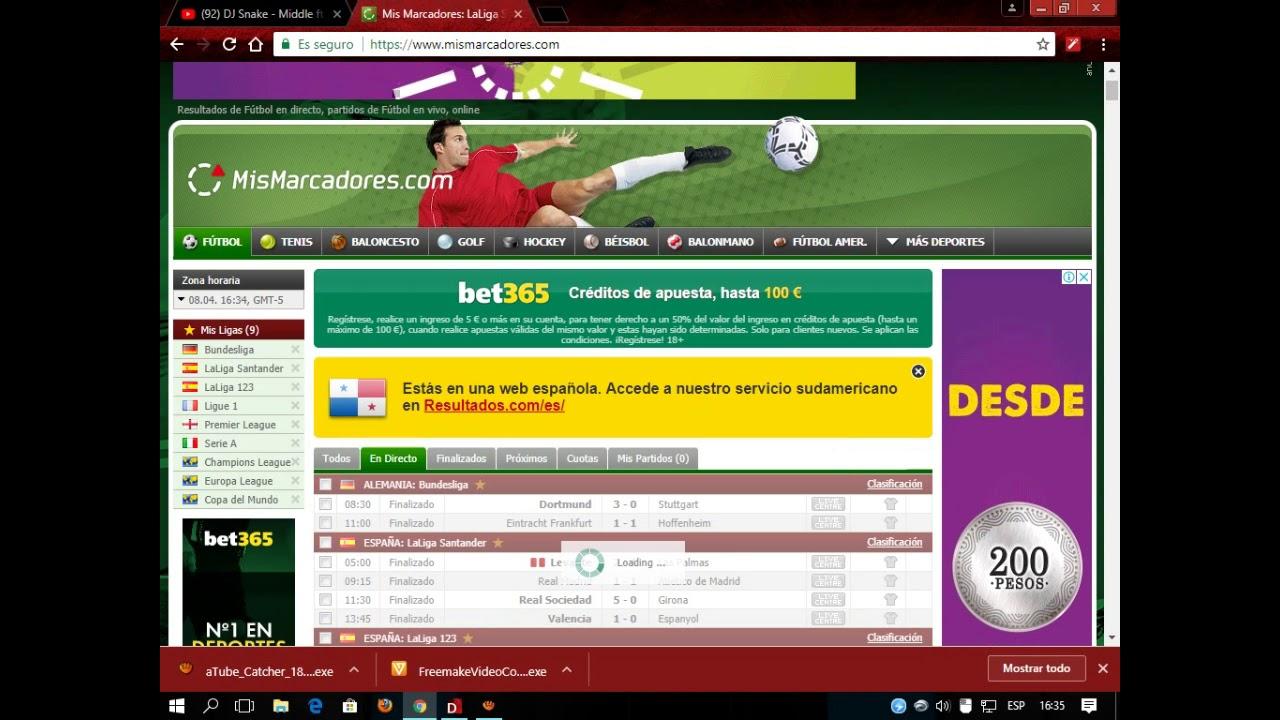 Mejor Pagina Para Ver Resultados De Fútbol En Vivo Mis