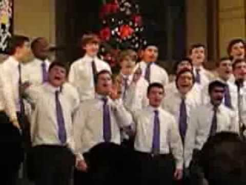 """Gonzaga College High School Choral Arts sing """"Santa Claus is Coming to Town"""" and """"Rocky Top"""""""