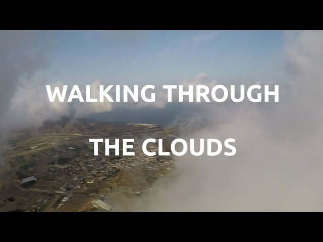 PXP Paramotor - Eros Frame - Walking through the Clouds 2.0