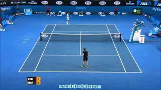 Andy Murray's serving shocker - Australian Open 2015
