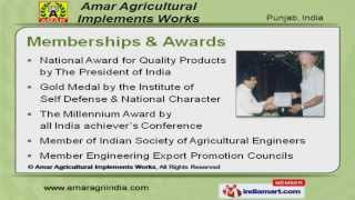 Agricultural Machinery by Amar Agricultural Machinery Group, Ludhiana