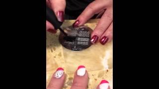 Konad Nail Stamp Tutorial by Retro LUX Hair Salon.