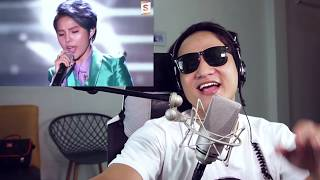 Anh Bảo Reaction IF - Vũ Cát Tường   LIVE Asia Song Festival 2018 