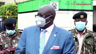 CS Magoha on the state of Education in the country during exam period