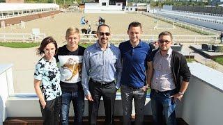 Денис Кулаков и Артем Радченко посетили конный клуб White Stable