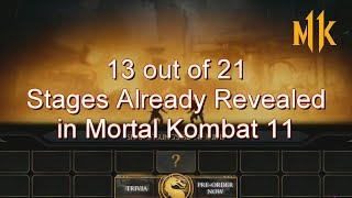 Every Stage Revealed in Mortal Kombat 11 So Far.