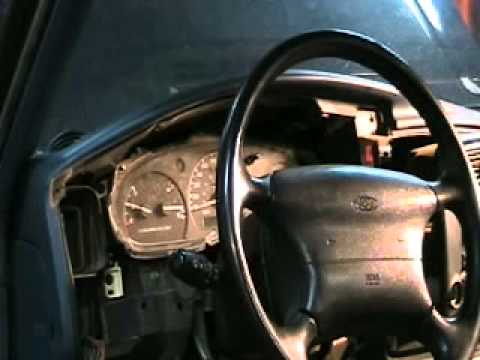 2001 Ford E350 Wiring Diagram How To Replace An Instrument Panel Bulb Youtube