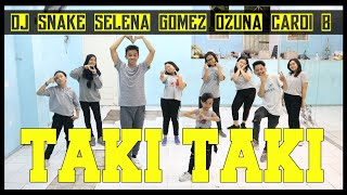 Taki Taki Dance - DJ Snake | Selena Gomez | Cardi B | Ozuna | Choreography by Diego Takupaz