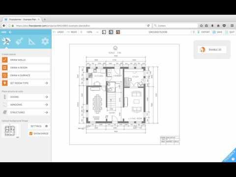 Floorplanner Lesson 1: Upload image
