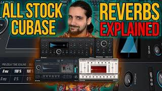ALL Cubase Stock Reverbs Explained! #cubase #stockreverbs #cubasepro